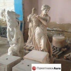 mramornyye statuyetki